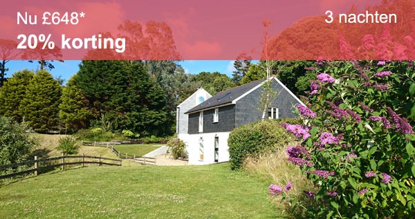 Luxury cottages on special offer